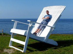 Adirondack Chair in Matane, Québec