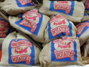 Kartoffeln von Prince Edward Island